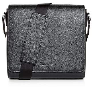 Michael Kors Harrison Crossgrain Leather Messenger Bag