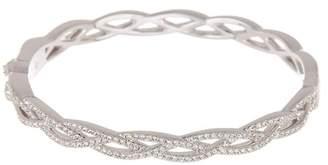 Nadri Braided Crystal Pave Bracelet