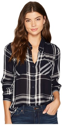 Lucky Brand - Plaid Shirt Women's Long Sleeve Button Up $79.50 thestylecure.com