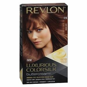 Revlon Luxurious ColorSilk Buttercream Permanent Haircolor, Medium Brown (41N)