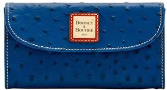 Dooney & Bourke Ostrich Continental Clutch