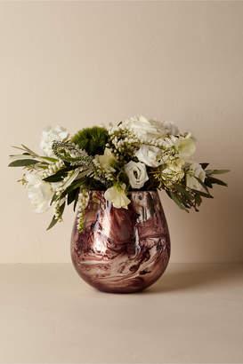 Swirled Mercury Vase