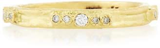 Armenta Sueno 18K Gold Diamond Stacking Ring