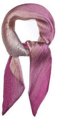 Women's Armani Collezioni Herringbone Plisse Scarf $245 thestylecure.com