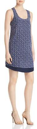 Tory Burch Sydney Floral Print Shift Dress