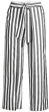 Lafayette 148 New York Women's Skyline Silk Stripe Pants