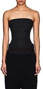 Rick Owens Women's Cotton Strapless Bustier Top - Black