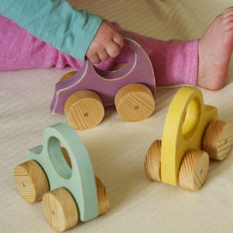 Ibby&Me Wooden Toy Car