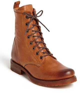 Women's Frye 'Veronica Combat' Boot $277.95 thestylecure.com