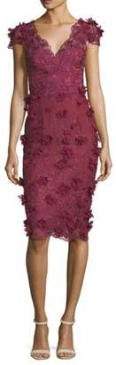 Marchesa Karina Cocktail Dress