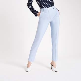River Island Womens Light Blue cigarette trousers