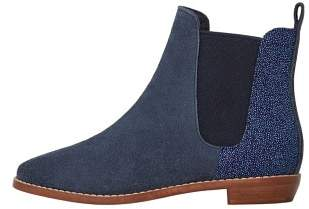 MANGO Microbeads suede ankle boots