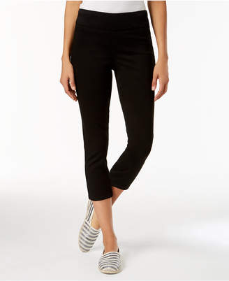 Charter Club Cambridge Pull-On Capri Jeans, Created for Macy's