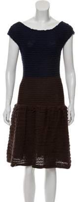 Louis Vuitton Knit Midi Dress w/ Tags Brown Knit Midi Dress w/ Tags