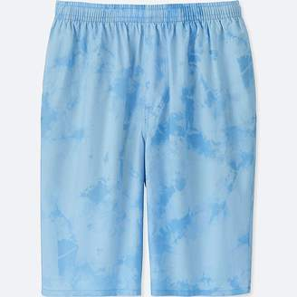Uniqlo Men's Mickey And The Sun Light Cotton Easy Shorts