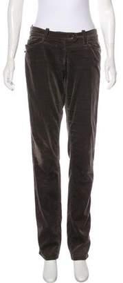 Isabel Marant Mid-Rise Velvet Pants