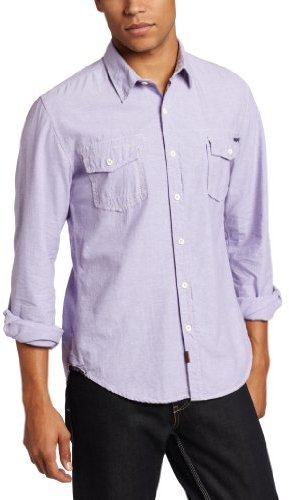 Union Men's Free Press Oxford Long Sleeve Button Down Woven