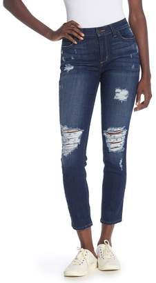 Siwy Denim Lauren Mid Rise Skinny Jeans