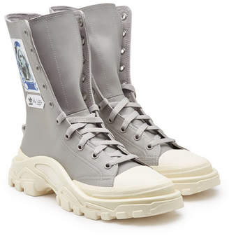 916e3a21aaf30a Adidas By Raf Simons Detroit High Top Sneakers