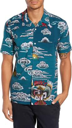 Hurley Indo Short Sleeve Camp Shirt