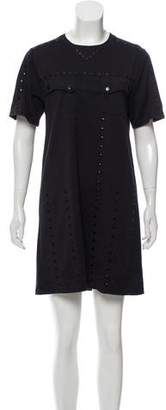 Opening Ceremony Short Sleeve Embellished Dress