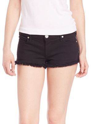 True Religion Joey Cut-Off Shorts $169 thestylecure.com