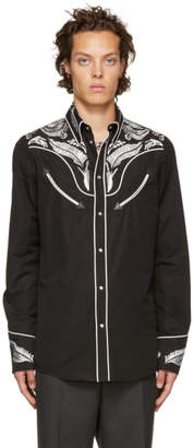 DSQUARED2 Black Chic Western Shirt