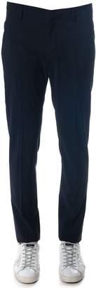 Dondup Gaubert Cool Wool Pants In Blue Color