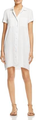 Alison Andrews Frayed Hem Shirtdress $88 thestylecure.com