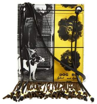 J.W.Anderson X Gilbert & George Graphic Print Canvas Bag - Mens - Multi