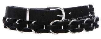 Rag & Bone Bradbury Chain-Link Belt w/ Tags