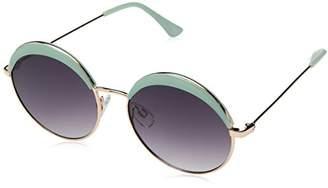 Lucky Brand Lucky Women's Vencgot56 Round Sunglasses