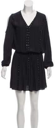 Ramy Brook Embellished Knee-Length Dress