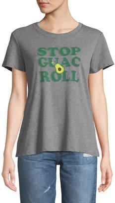 Sub Urban Riot Stop Guac Roll Short-Sleeve Slogan Tee