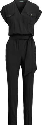 Ralph Lauren Roll-Tab-Sleeve Jumpsuit
