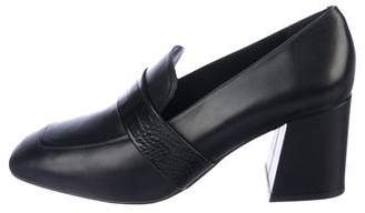 Freda Salvador Leather Ankle Loafers w/ Tags