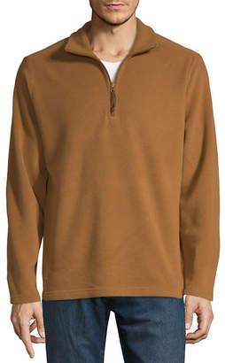 ST. JOHN'S BAY Quarter-Zip Pullover