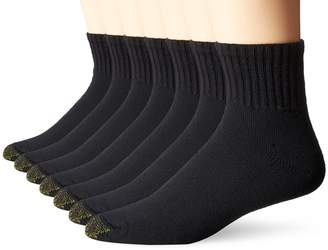 Gold Toe Men's Cushioned Cotton Quarter Extended 7-Pack