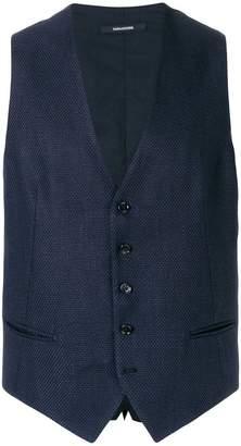 Tagliatore tweed waistcoat