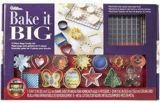 Wilton Mega Cookie Value Set, 17 piece, Cookie Cutter, Baking Sheet, Baking Rack, Gingerbread Man