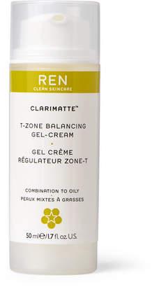 Ren Skincare Clarimatte T-Zone Balancing Gel-Cream, 50ml