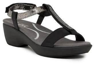 Naot Footwear Marsanne Rhinestone Platform Wedge Sandal