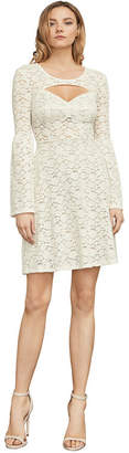 BCBGMAXAZRIA Medina Floral Lace A-Line Dress
