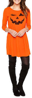ST. JOHN'S BAY 3/4 Sleeve Halloween Swing Dresses