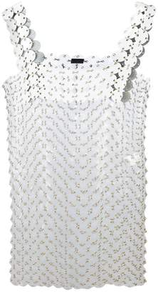 Paco Rabanne ring appliqué dress