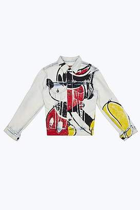 Marc Jacobs CONTEMPORARY Mickey Mouse Denim Jacket
