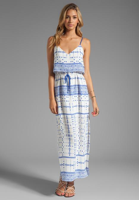 Dolce Vita Robyn Mojave Printed Maxi Dress