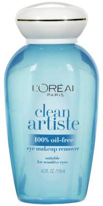 L'Oreal Clean Artiste Oil-Free Eye Makeup Remover 4 fl oz