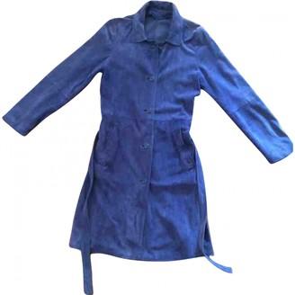 Ballantyne Blue Suede Jacket for Women