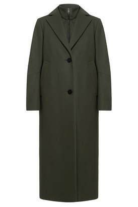 InAvati - Khaki Wool Coat & Vest